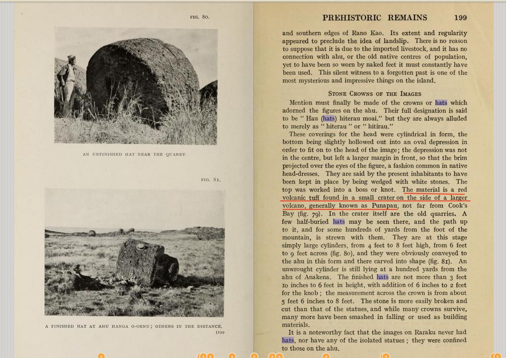 'The mystery of Easter island: The story of an expedition' (1919)