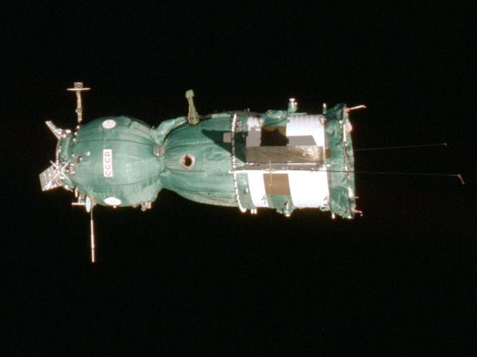 Soyuz 19 left view