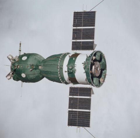 Soyuz 19 top view