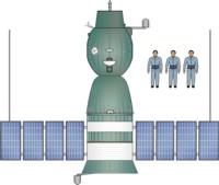 Soyuz 7K-OK - Top View