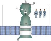 Soyuz 7K-OKS - Top View