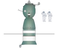 Soyuz 7K-T - Top View