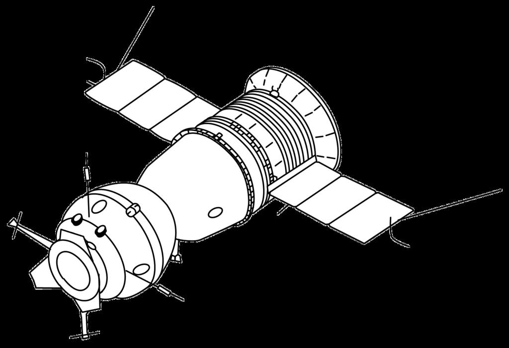 Soyuz 7K-TM - 3D sketch