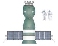 Soyuz 7K-TM - Top View