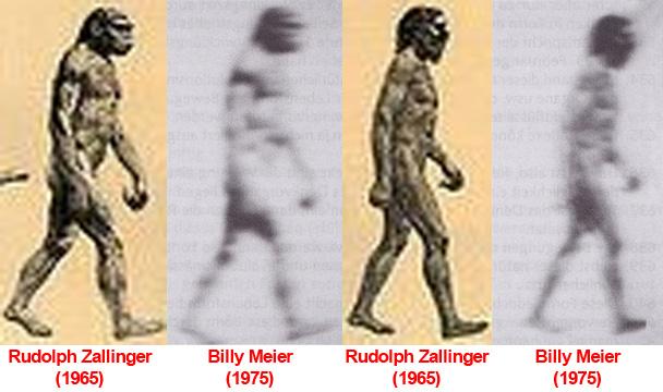 March of Progress comparison