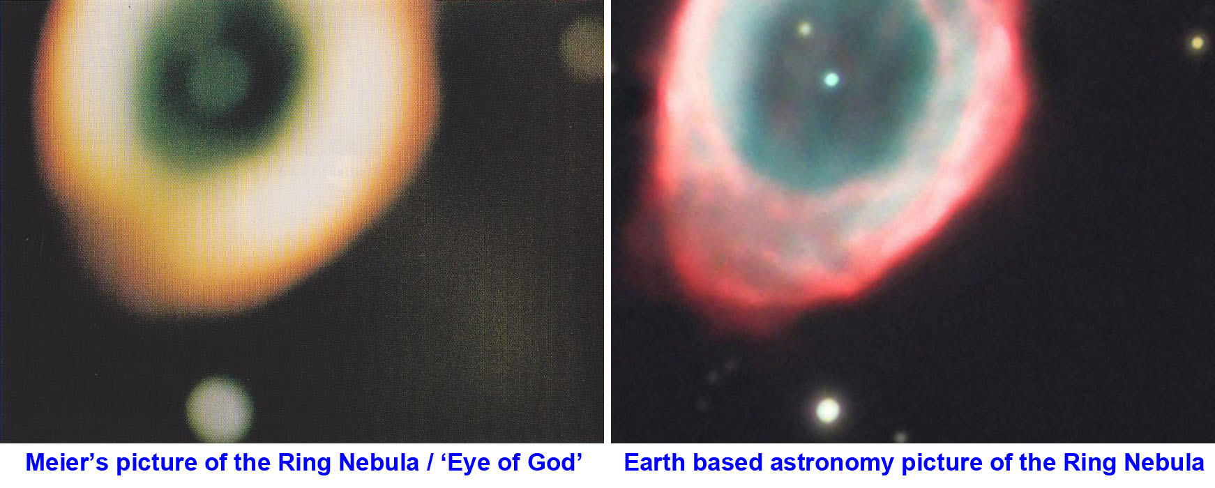Ring Nebula - Comparison