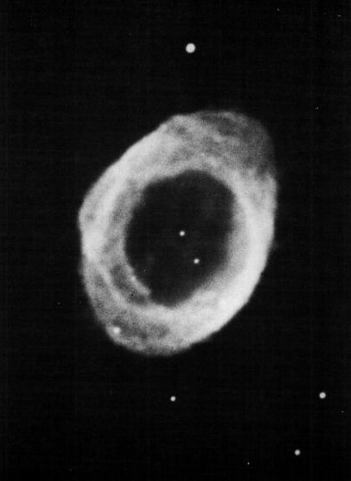 The RIng Nebula in Lyra (Palomar Observatory)