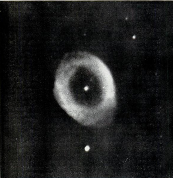 The Ring Nebula in Lyra (Lick Observatory)