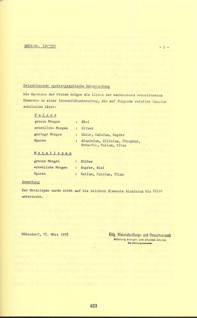 423 Pre., App. VII, p 423