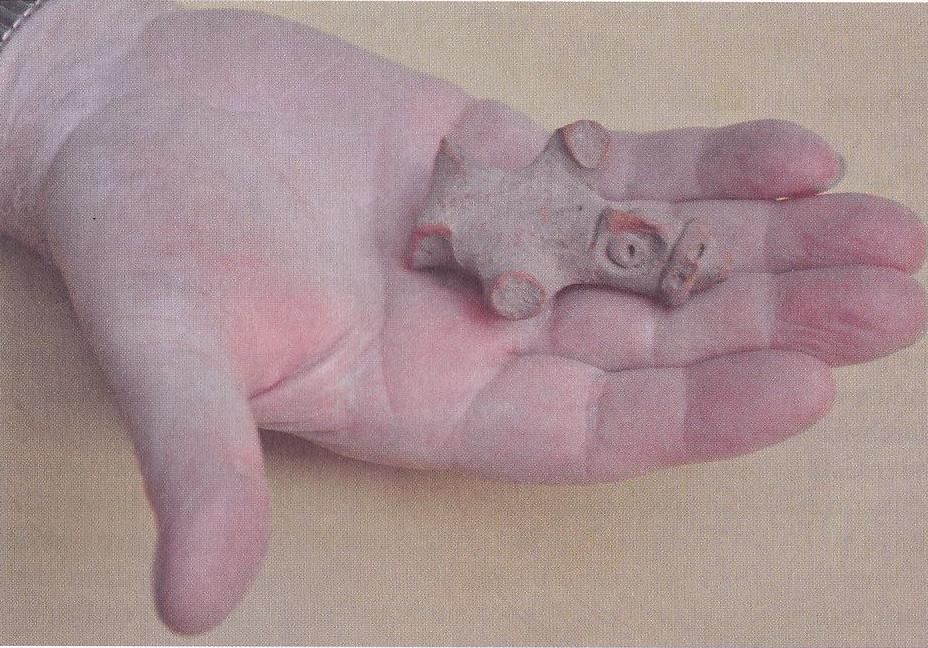 Human figurine from India-1