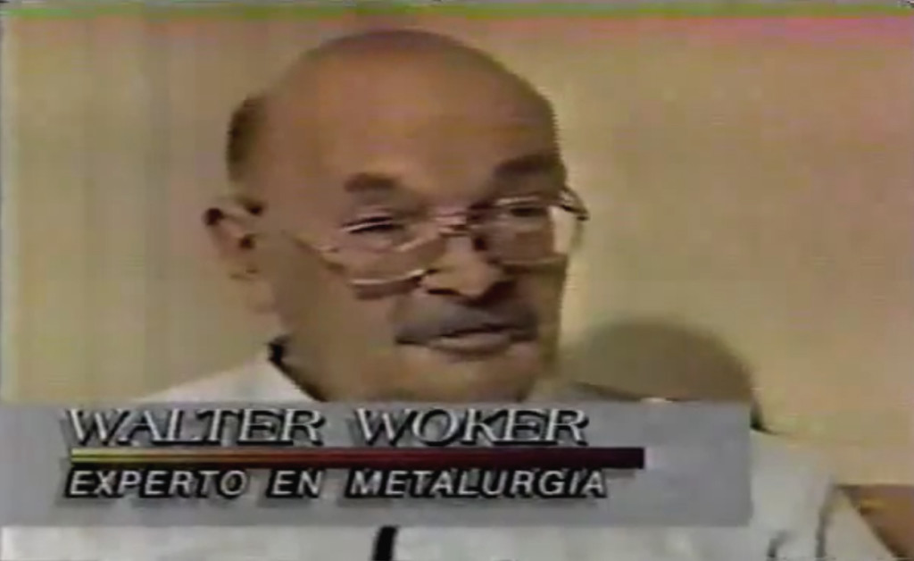 Dr. Walter W. Walker (Source: La Historia De Billy Meier, 1984)